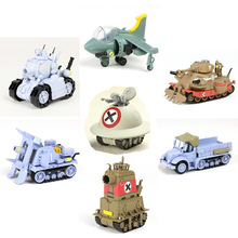New 6 Styles Metal Slug X Tank plane truck Classic game vehicle Collectible Assembly Model Building Kits gift for boy