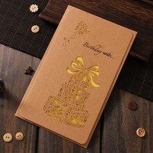 Envelope Message Greeting-Card Kraft-Paper Letter Gift-Box 1pack-Set Romantec Hollow