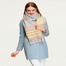 Vomint 2017 Winter Plaid Scarf  Female Geometric Stoles and Tassels Women Fashion Shawls AP401024