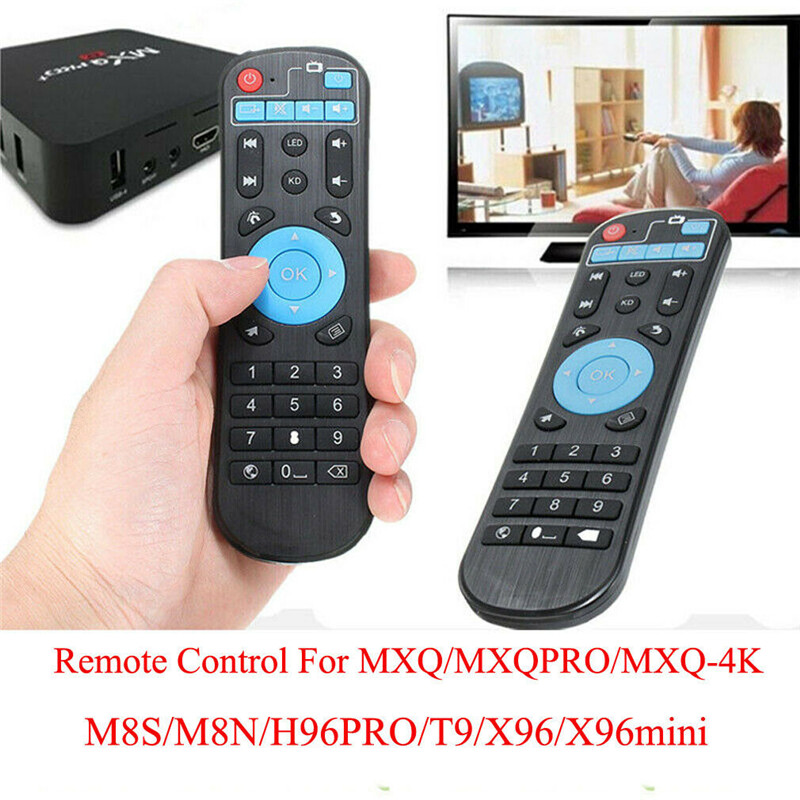 Wireless Replacement Remote Control For <font><b>MXQ</b></font>-<font><b>4K</b></font>, <font><b>MXQ</b></font>-H96,<font><b>MXQ</b></font>-<font><b>pro</b></font>,T9, X96 Set Top <font><b>Box</b></font> image