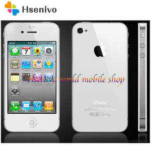 Apple iPhone 4 512mb 16GB Unlocked 8GB WCDMA/GSM 5MP Used Original 5mp-Camera 16GB-ROM