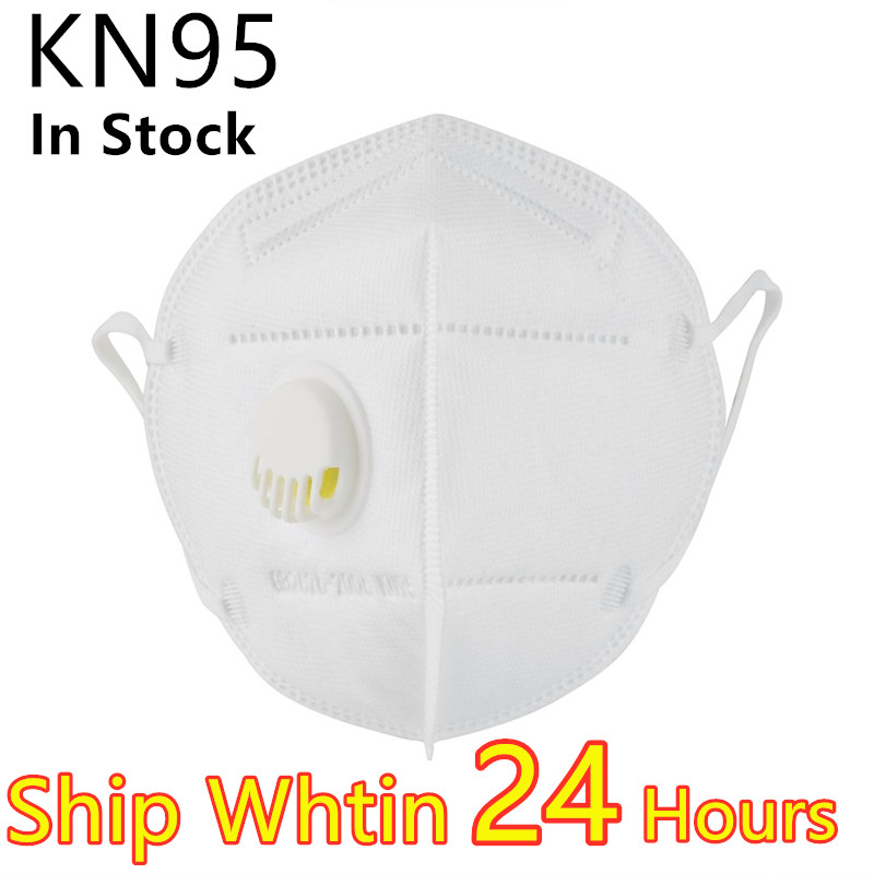 5pcs N95 5 Layers Mask Bacteria Proof Anti Infection KN95 Masks Particulate Mouth Respirator Anti PM2.5 Safety Protective Mask