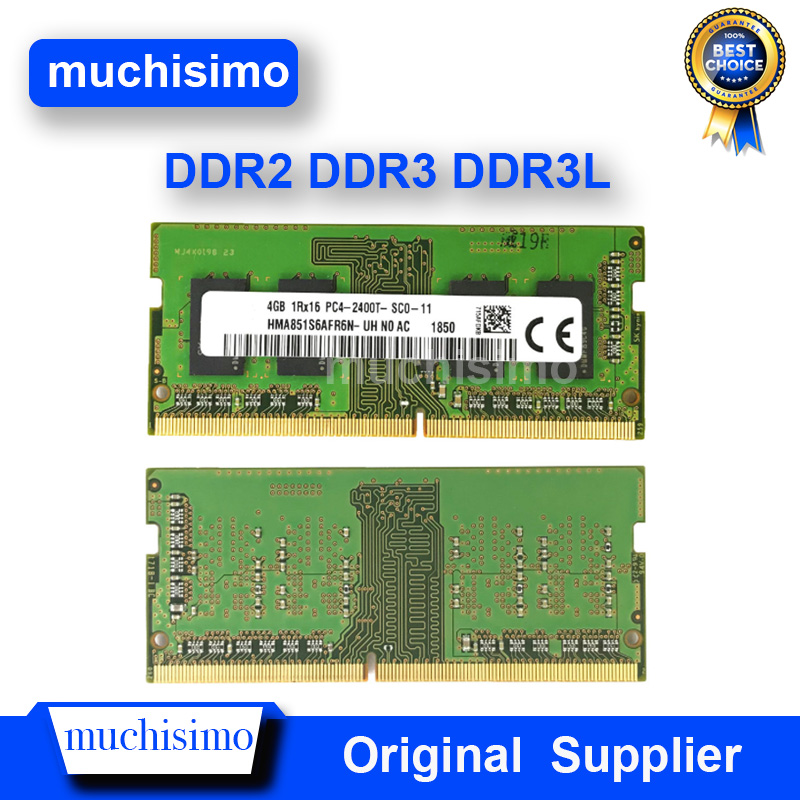 Memory Notebook RAM 2GB 4GB 8GB PC2 PC3 PC4 DDR2 DDR3 DDR3L 800 1066 1333 1600Mhz 5300 6400 8500 10600 Laptop Fully Compatible