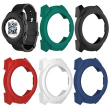 Silicone Protector Soft Shell Protective Frame Case Cover Skin Bumper For Ticwatch pro Smart Watch стоимость