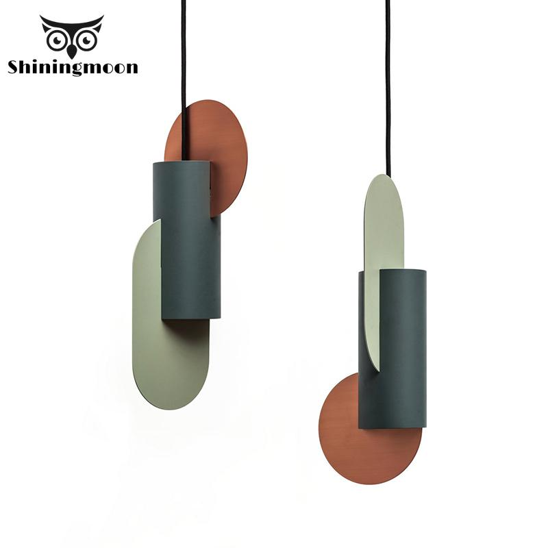 Modern Designer Creative LED Pendant Lights Lighting Nordic Loft Iron Pendant Lamp Living Room Bedroom Decor Hanglamp Luminaria