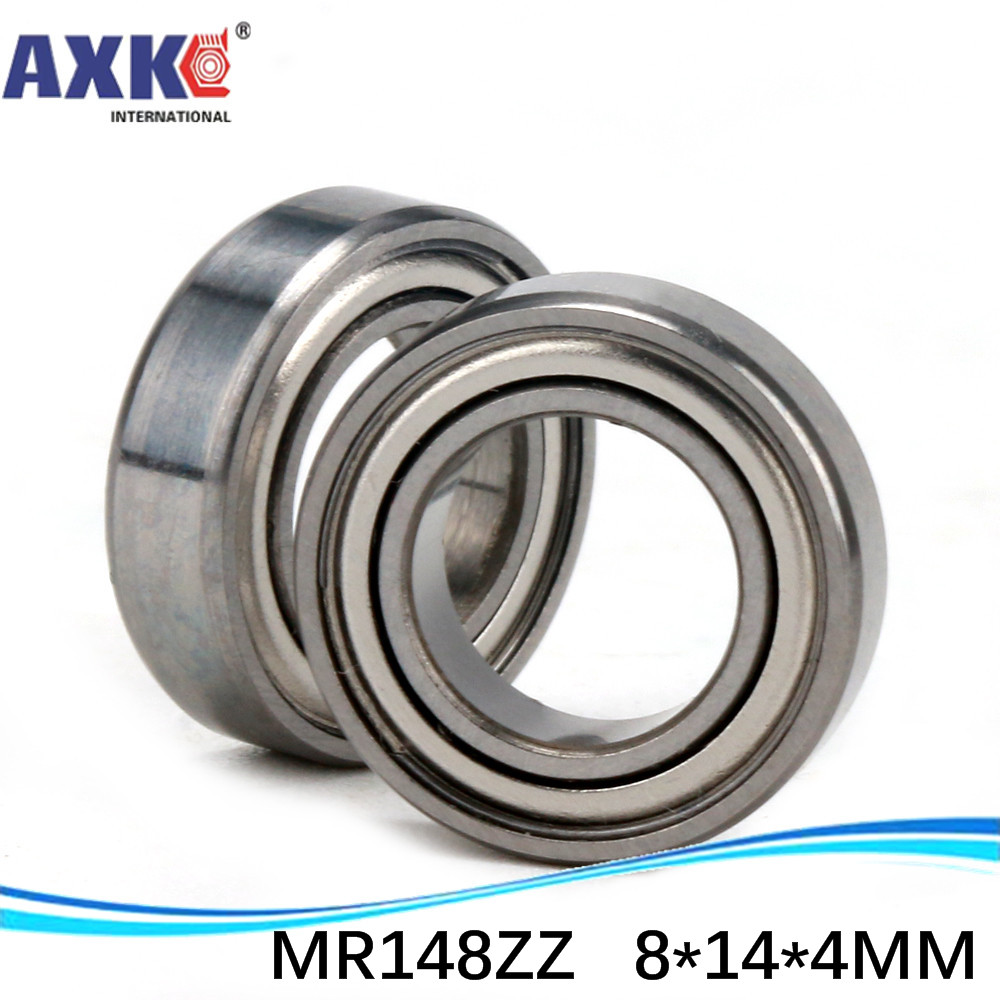 (1pcs) High quality ball bearing (stainless steel 440C material) SMR148ZZ <font><b>8*14*4</b></font> mm ABEC-5 Z2 image