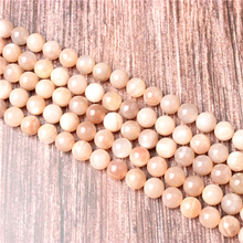 Hot Sale Natural Stone Sun Stone Beads 15.5 Pick Size: 4 6 8 10 mm fit Diy Charms Beads Jewelry Making Accessories
