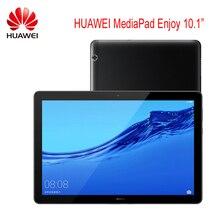 오리지널 화웨이 MediaPad Enjoy Tablet 10.1 안드로이드 8.0 기린 659 옥타 코어 IPS 1920*1200 GPS OTG 5100mAh Fast Charg