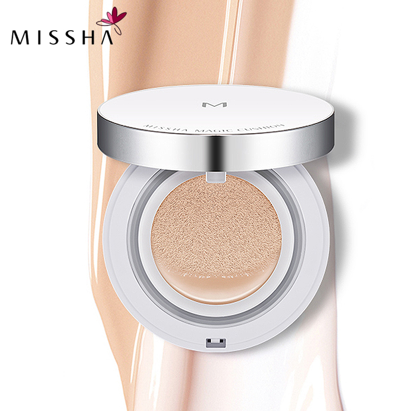MISSHA M Magic Air Cushion Whitening Immaculate BB cream sun block Foundation Concealer Makeup Original Korea Cosmetics #21 #23