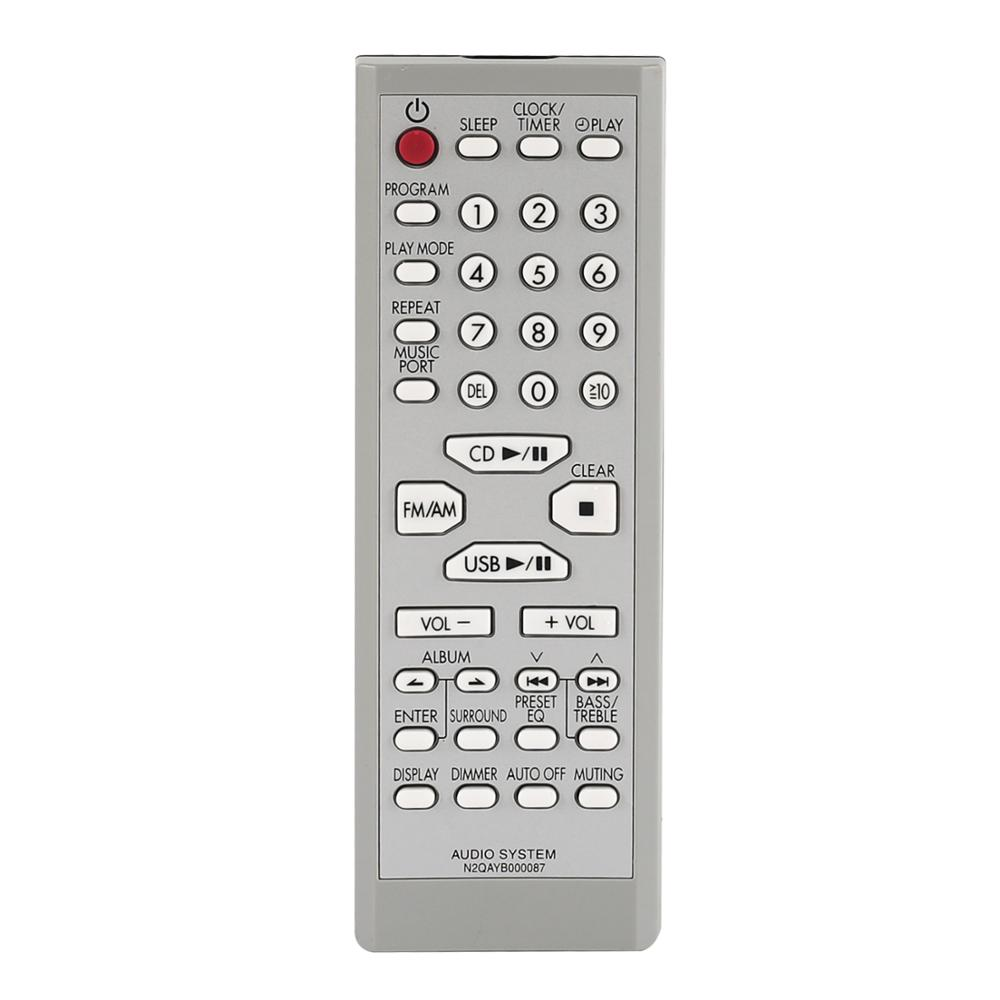 New remote control for panasonic N2QAYB000087 N2QAYB000108 home theatre audio system player controller
