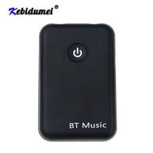 Kebidumei 2 in 1 Senza Fili Bluetooth V4.2 Trasmettitore Ricevitore 3.5 millimetri Stereo di Musica Adattatore Audio per la TV Cuffie Speaker