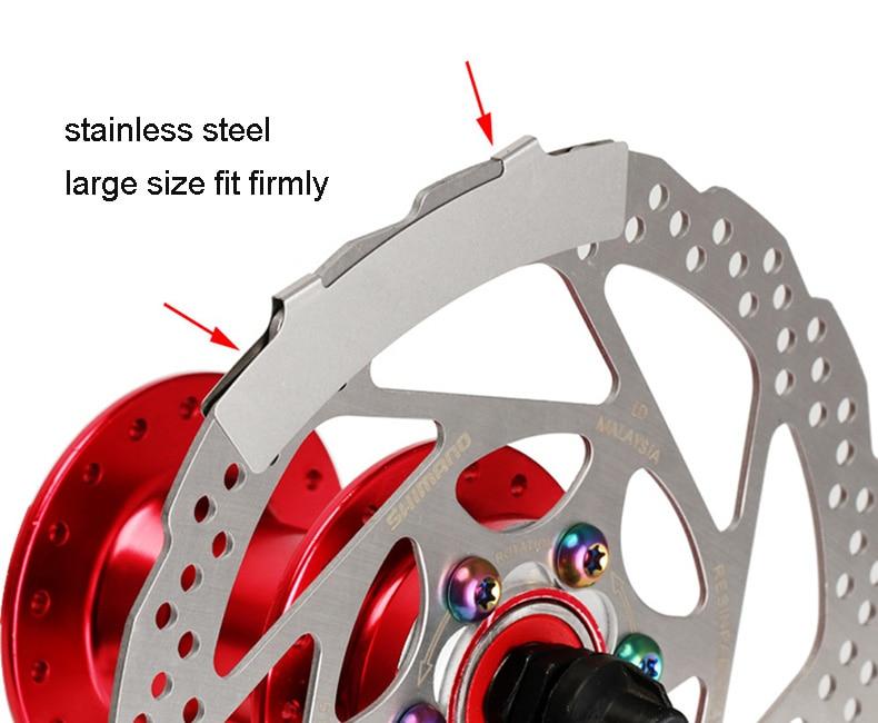 Ever Bike Precise Sheet Stainless Steel Mountain Bikes Oval Disc Brakes Adjustment Tool Brake Pad Adjusting