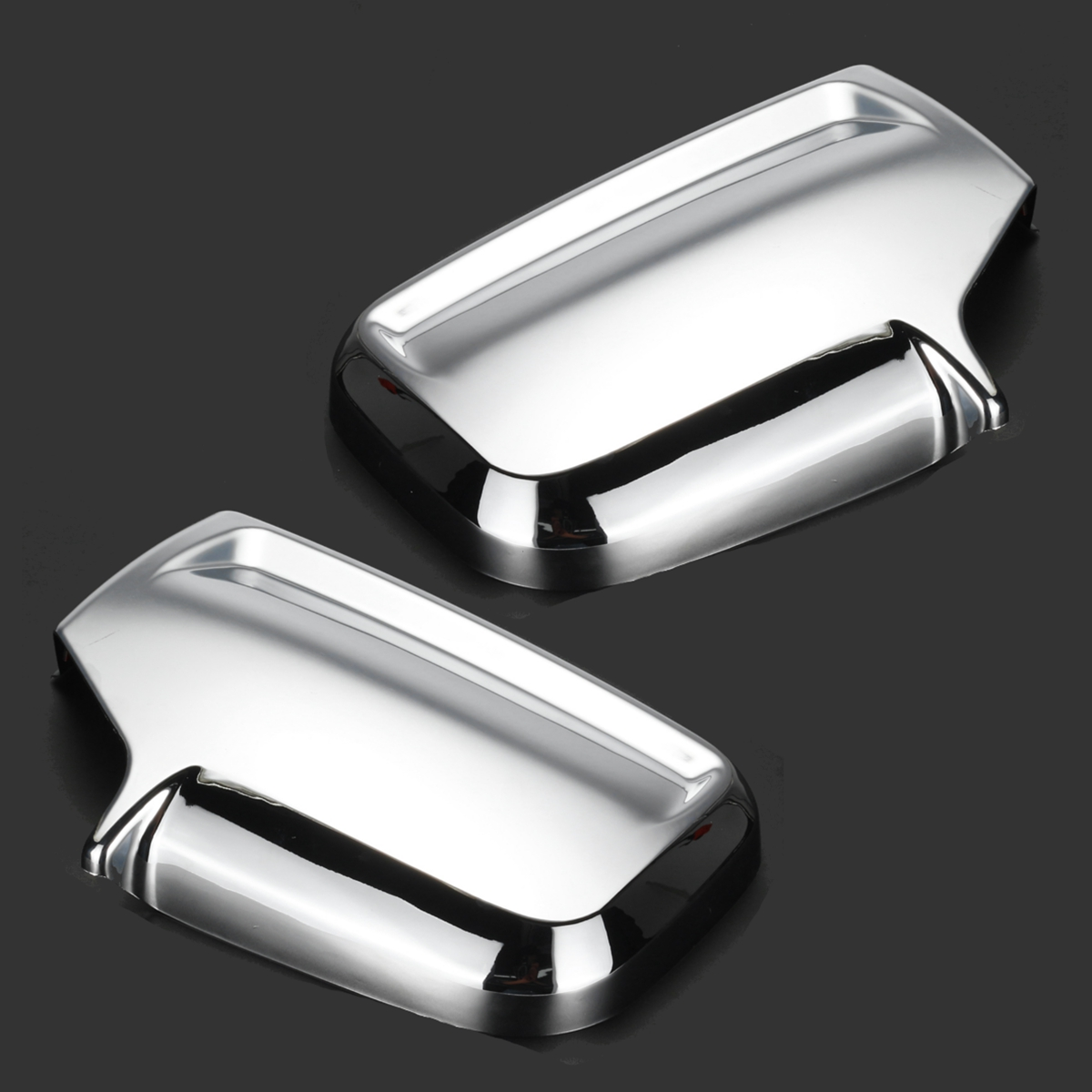 2PCS Rearview Mirror Covers For Mercedes Sprinter 2006 2007 2008 2009 2010 2011 2012 2013 2014 2015 2016 2017 2018 Gloss Chrome