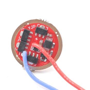 20mm AMC7135 Controlador led de atenuación continua para linterna, piezas de luz de antorcha XHP50 XM-L2 U3 U2 XPL V2 V3 V5 SST20 SST40 led