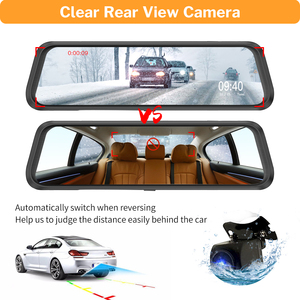 Image 5 - DeelifeกระจกDvr Dash Cam 10 Full HD 1080Pรถด้านหลังดูกล้องที่มีกระจกมองหลังvideo Registrator