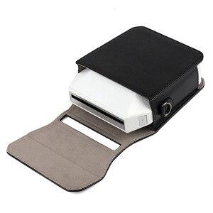 Image 3 - 富士フイルムインスタックスため共有 3 SP 3 Pu レザーケーススマートフォンインスタントプロテクターポーチバッグ用と富士インスタックス SP3