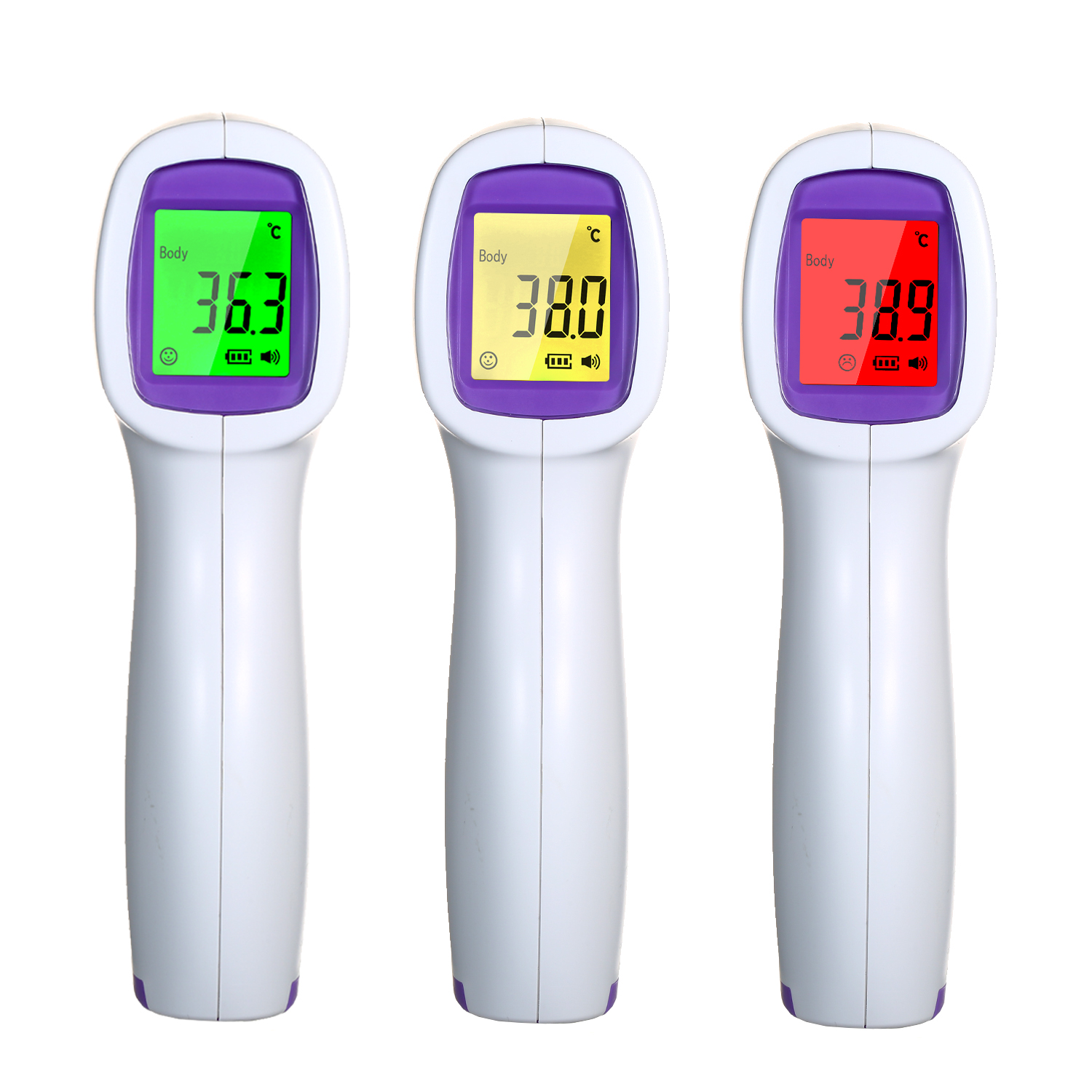 Non-contact Infrared Digital Temperature Meter 1-second Accurate Reading IR Infrared Temperature Measurement For Children Adult