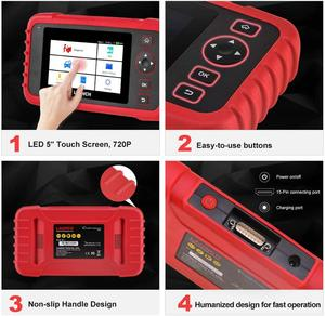 Image 5 - LAUNCH CRP129X OBD2 Scan Tool Android Based OBD2 Scanner 4 System Diagnoses Oil Reset EPB/SAS/TPMS Automotive Tool