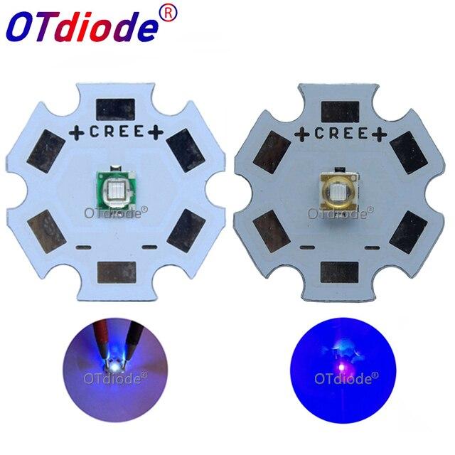 10 50PCS 3W 3535 High Power LED UV Purple Light Chip 365nm 385nm 395nm 420nm Emitter Diode Ultra Violet DIY