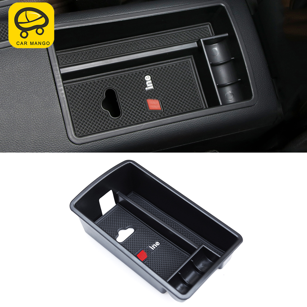 CAR MANGO Car Styling Armrest Storage Organizing Box Interior Accessories For Audi A3 2017