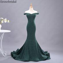 Женское вечернее платье Русалка erosebridal длинное из эластичной