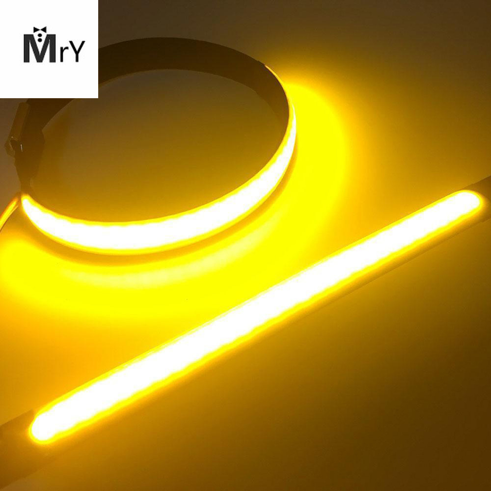 1PCS 45mm-70mm Motorcycle LED Fork Turn Signal Strip Light Amber Lamp For Harley/Yamaha Flasher Ring Motorcycle Led High Quality