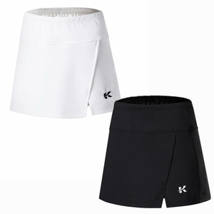 Brand Sports 2 In 1 Women Skirt with Shorts Badminton Table Tennis Skorts Breathable Anti Leakage Yoga Golf Jogging Skirts(China)
