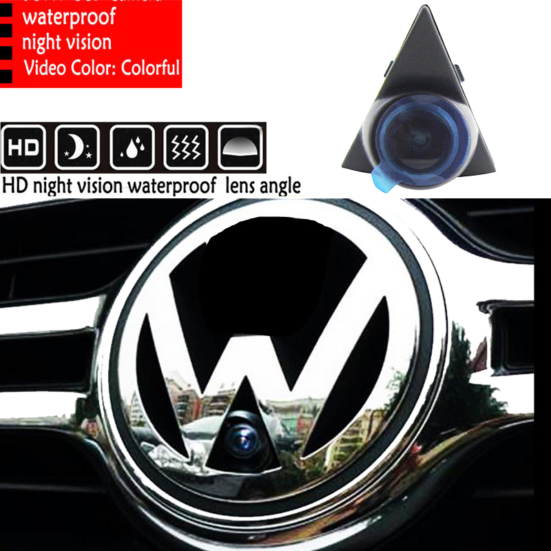 CCD night vision car logo camera front view Sony For volkswagen VW GOLF Bora Jetta Touareg Passat Lavida Polo Tiguan|ccd hd|camera for vw|car camera passat - title=
