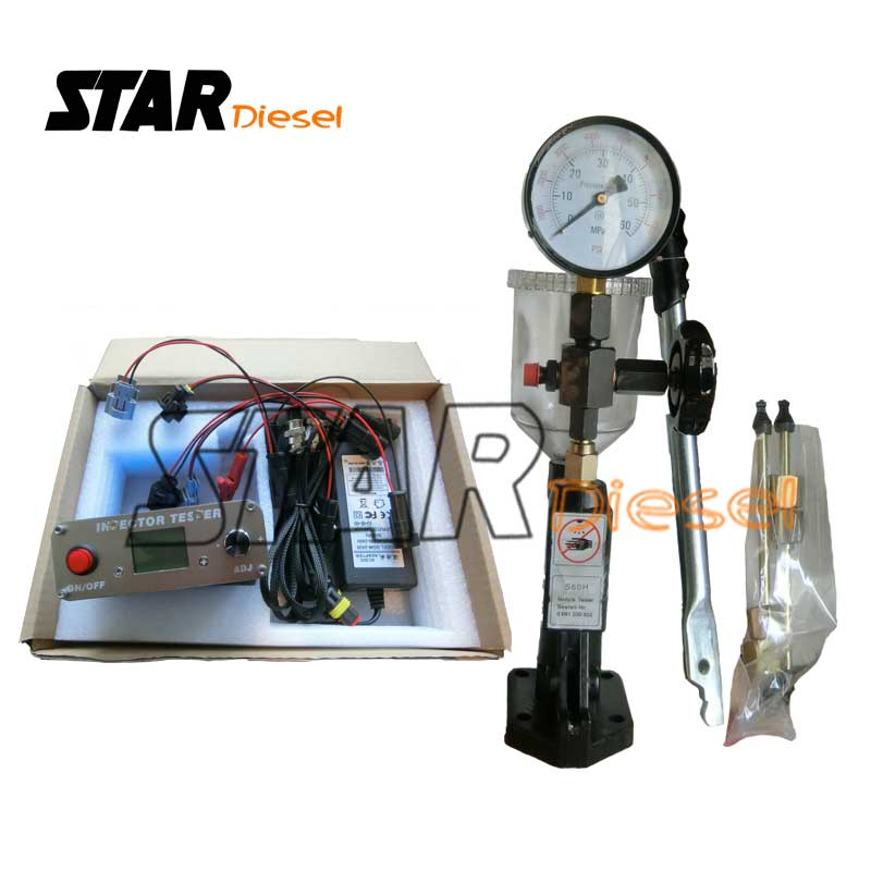 Gemeinsame Schiene Einspritzpumpe Kalibrierung Maschine Auto Diagnose Werkzeug Injektor Düse Tetser Für Piezo Injektor Test Maschine