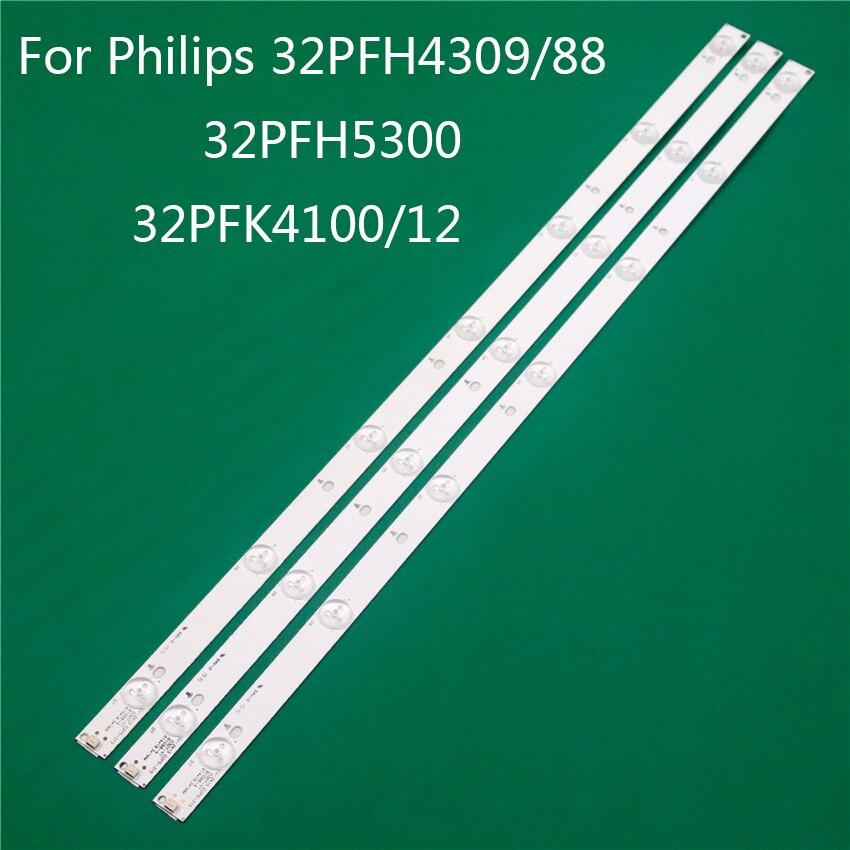 LED TV Illumination For Philips 332PFH4309/88 32PFH5300 32PFK4100/12 LED Bar Backlight Strip Line Ruler GJ-2K15 D2P5 D307-V1 1.1