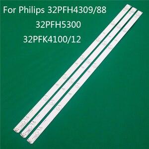 Image 1 - LED TV Illumination For Philips 332PFH4309/88 32PFH5300 32PFK4100/12 LED Bar Backlight Strip Line Ruler GJ 2K15 D2P5 D307 V1 1.1