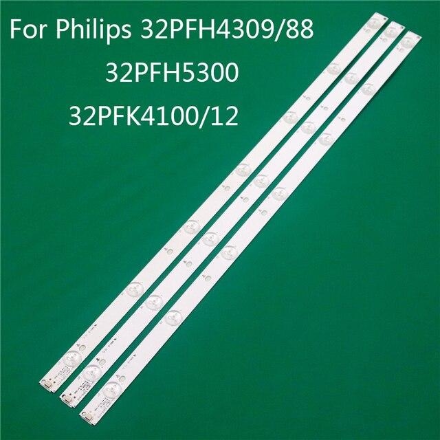 LED TV Illumination For Philips 332PFH4309/88 32PFH5300 32PFK4100/12 LED Bar Backlight Strip Line Ruler GJ 2K15 D2P5 D307 V1 1.1