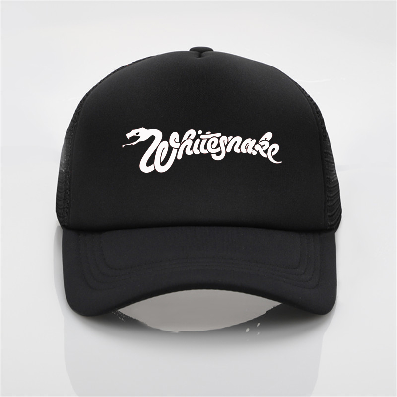 Whitesnake Printing Baseball Cap Men Women Summer Cap New Sun Hat Graffiti Baseball Cap Snapback Hat