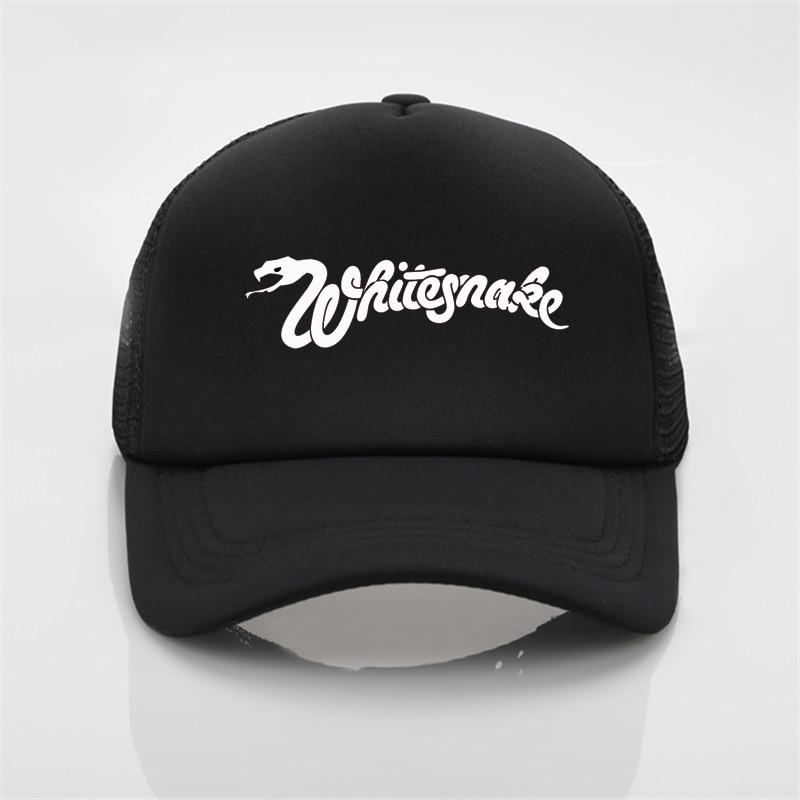 Whitesnake Printing Baseball Cap Men Women Summer Cap New Sun Hat Graffiti Baseball Cap Snapback Hat