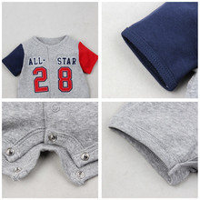 Kids Baby Girls Boys Rompers Short sleeve Jumpsuit 0-24M
