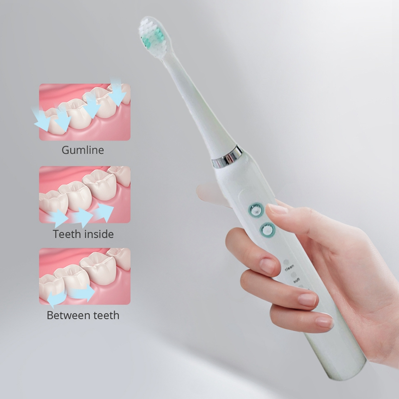Electric Toothbrush Powerful Cleaning Toothbrush with Smart Timer Whitening Toothbrushes
