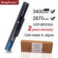 Аккумулятор KingSener для SONY Vaio, японский аккумулятор для сотовой связи, подходит для моделей 14E, 15E, SVF1521A2E, SVF15217SC, SVF14215SC, SVF15218SC, BPS35, BPS35A