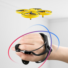 Anti-collision LED Gravity Sensing Airplane Firefly Intelligent Remote Control Bright RC Quadcopter