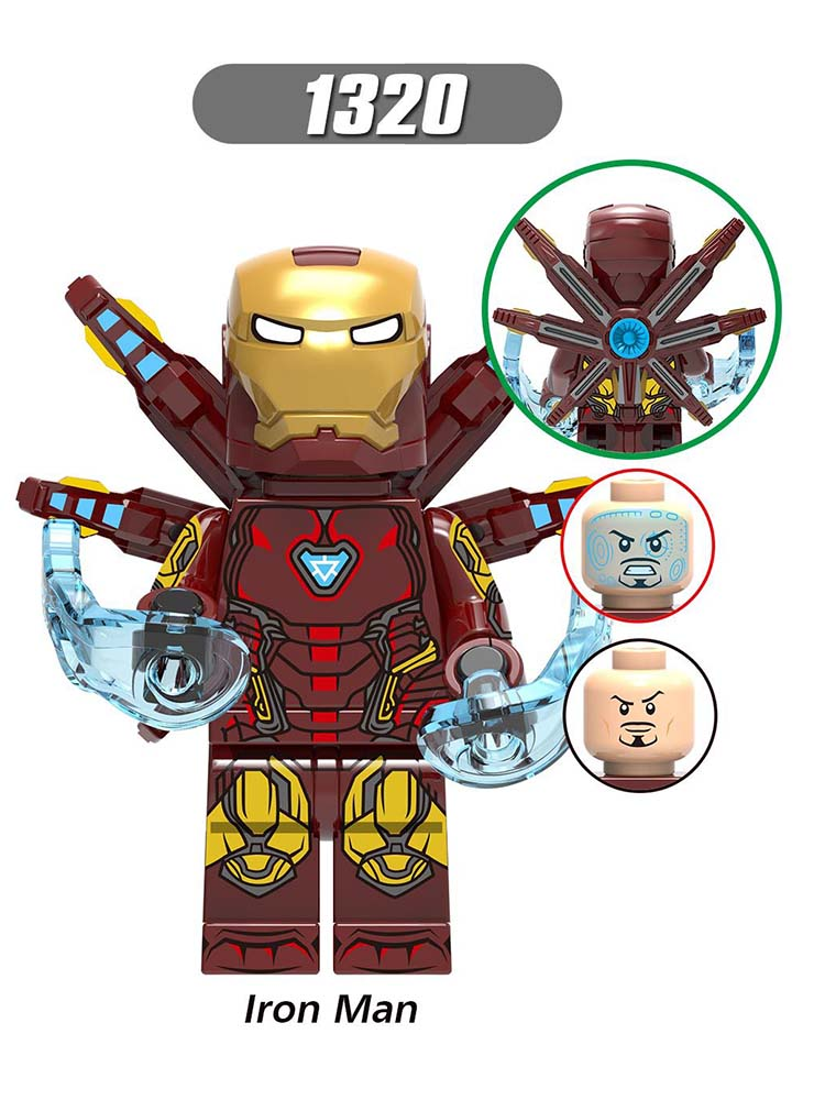 Single Sale Compatible LegoINGlys Super Heroes MARVEL Avengers 4 Iron Man MK85 Building Block Kid Toys Gifts Constructor X0265