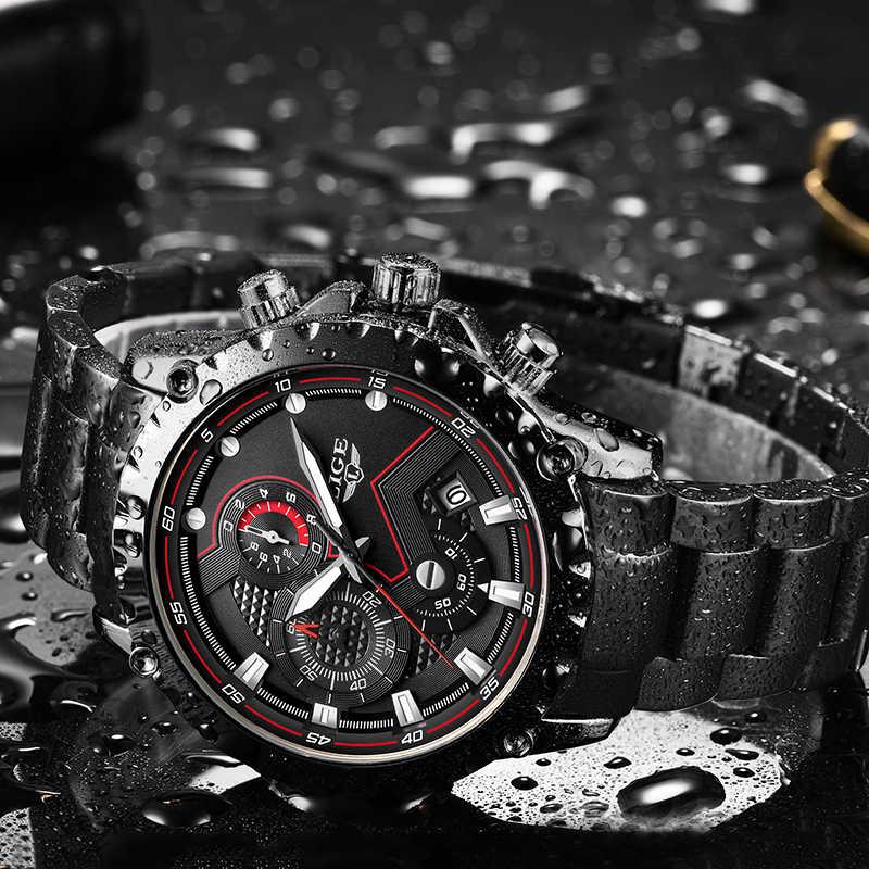 Relogio Masculino Luik Nieuwe Mannen Horloges Top Luxe Merk Mode Sport Waterdicht Chronograaf Mannelijke Roestvrij Staal Polshorloge Mannen