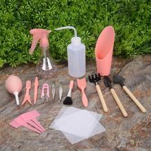12% 2F16шт суккулент посадки инструменты мини сад рука инструменты миниатюра сад инструменты сельское хозяйство инструменты для дома миниатюра