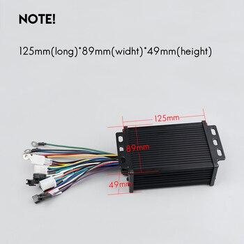 250W 350W 24V 36V 48V wyświetlacz elektryczny rower Ebike Panel sterowania LCD rower wodoodporny USB rowery elektryczne kontroler wyświetlacza
