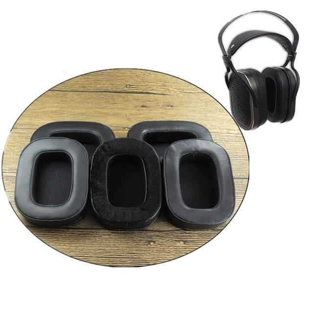 Almohadillas suaves de piel de oveja, almohadillas para los oídos de espuma viscoelástica, cojines para investigación acústica, auriculares para AR H1