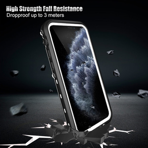 Image 3 - IP68 방수 케이스 For iPhone 12 Pro 7 8 Plus X XR 케이스 iPhone11 Pro Max 360 Full Coque 용 수중 다이빙 충격 방지 커버