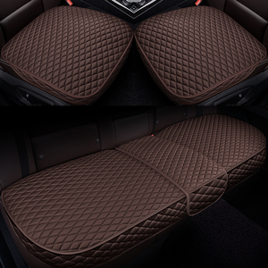 Image 5 - Car Front Back Seat Covers Car seat pad Car seat cushions Auto Automotive interior Truck Suv Van seat cover Car Mat Cover