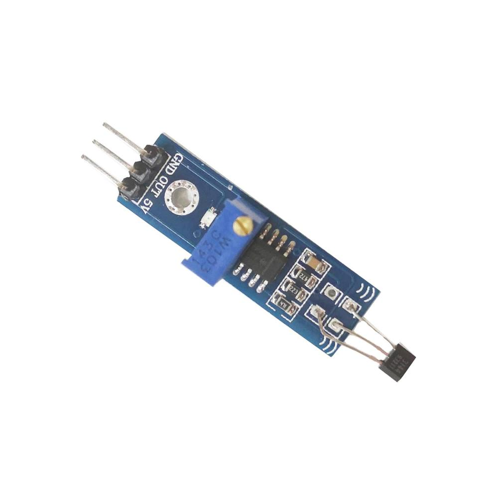 Module de capteur de Hall Module de capteur de comptage de vitesse magnétique Module de capteur de détection de compteur de vitesse 3144 LM393