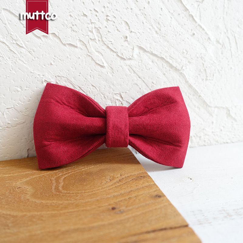 Muttco Pet Dog Dog Collar Bow Teddy Tie Creative Accessories Accessories Bowtie Ubt-020