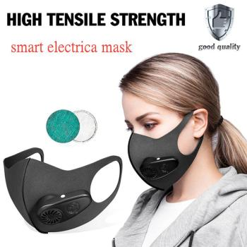 Smart Electric Masks For Adult Reusable Face Mask With Purifier Filter Breathable Mask Cycling Sports Mask Mascarillas Electrica 1
