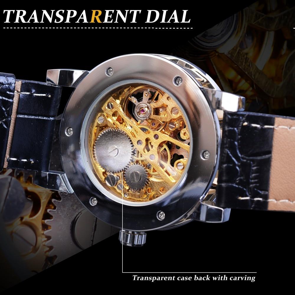 H46a5aae2b2da4e65a0af0e0954a4030af Winner Black Golden Retro Luminous Hands Fashion Diamond Display Mens Mechanical Skeleton Wrist Watches Top Brand Luxury Clock