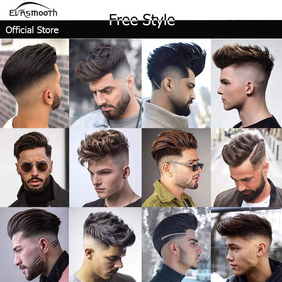 Hd Toupet Humain Hair Replacement Systems 100 Indian Remy Hair Men Toupee Wig Real Natural Straight Hair Toupee For Men 6inch Toupees Aliexpress